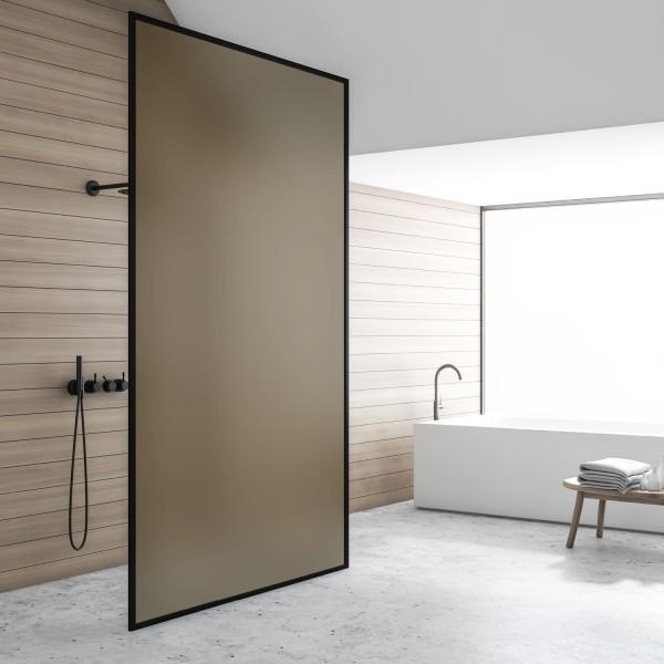 Sichtschutzfolie - Bronze matt